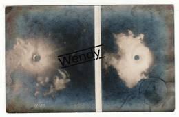 Chimay (très Rare - éclips Om 11u45 - 17 April 1912 - Photo Originale - Photo G. Blanpain - Thuin
