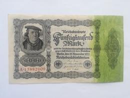 GERMANIA 50000 MARK 1922 - [ 3] 1918-1933 : Weimar Republic