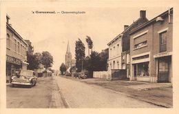 BB173 's Gravenwezel Gemeenteplaats Jaren 50 - Schilde