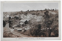 CPA 35 CHATEAUGIRON LE BAS NOYAL - Châteaugiron