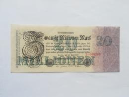 GERMANIA 20 MILLIONEN MARK 1923 - 50 Millionen Mark
