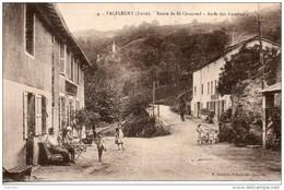 42. Valfleury. Route De Saint Chamond. Arret Des Autobus - Otros Municipios