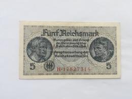 GERMANIA 5 MARK 1940 - [ 4] 1933-1945 : Terzo  Reich