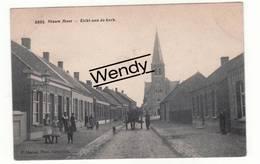 Nieuwmoer (zicht Aan De Kerk Animée) Uitg. Hoelen N° 6396 - Kalmthout