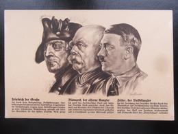 Postkarte Propaganda Fritz Otto Und Adolf - Briefe U. Dokumente