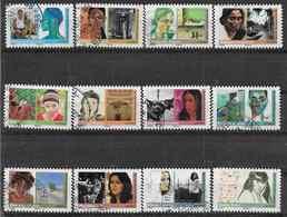 2009 FRANCE Adhesif 274-85 Oblitérés,cachet Rond,  Femmes Du Monde, Série Complète - Adhesive Stamps