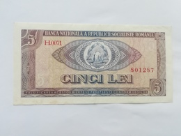 ROMANIA 5 LEU 1966 - Romania