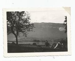 Photographie 73 Savoie Lac D'aiguebelette 1931 Camping Photo 6,5x9 Cm Env - Luoghi