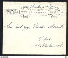 Finnland, Kenttäposti, Beleg Von 1942, Stempel Turku - Covers & Documents