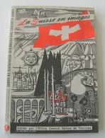 Carte Illustrée Suisse Otto M Muller 1939 WWII Vintage Rétro Dépliant Géographie - Landkarten