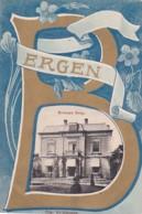 2603539Bergen, Kroonen Burg.poststepel 1908.(kanten Zijn Afgeknipt) - Paesi Bassi