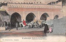 Morocco Tanger, Tangier, Custom's House Door - Cartoline