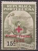 Croix Rouge - PORTUGAL - Franchise - N° 32 * - 1928 - Franchise