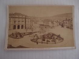 Photo Ancienne Originale XIX ème Suisse Vue De Neuchatel Photo Bruder Frères - Anciennes (Av. 1900)