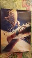 Old USSR  Postcard -  IN OPEN SPACE  - STEREO 3D PC - 1981 - Stereoscopische Kaarten