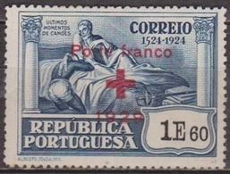 Croix Rouge - PORTUGAL - Camoes - Franchise - N° 42 * - 1929 - Neufs