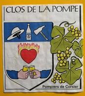12295 -  Clos De La Pompe Pompiers De Corsier Suisse - Pompiers