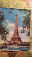 PARIS TOUR EIFFEL, EIFFEL TOWER, FRANCE  - STEREO 3D PC - Lenticular - Stereoscopische Kaarten