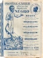 BEAU Protège Cahier Publicitaire Ancien PRODUITS NEGRO - Book Covers