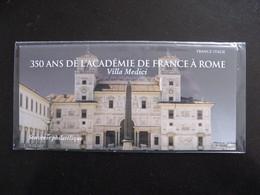 """TB B.F. Souvenir N°131 : """" 350 Ans De L'académie De France à Rome ... """", Sous Blister, Neuf XX. - Souvenir Blocks & Sheetlets"""