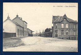 Virton. L' Ancienne Gare De Virton-Ville. Café De La Gare. - Virton
