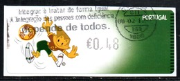 Portugal 2004 ATM-FRAMA - UEFA Euro  2004 - 0.48 € - ATM/Frama Labels