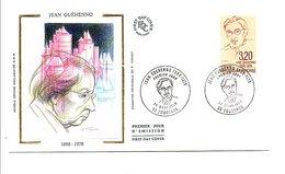 FDC 1990 JEAN GUEHENNO - FDC
