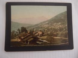 Photo Ancienne Originale XIX ème Suisse Saint Beatenberg Et Le Niesen - Anciennes (Av. 1900)
