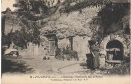 VOUVRAY - L'Echeneau - Habitations Dans Le Rocher - Vouvray