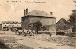 Villeron, La Sucrerie Façade Principale, Attelage Boeufs (en L'état - Frankreich