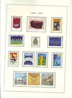 Collection Compléte Andorre Français Dont 268€ De Faciale **  1999 à 2013 Sur Feuilles Leuchturm - Andorra Francesa
