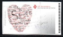 Portugal 2004 ATM-FRAMA - 10° Aniversario Do Ano .... - 0.30 € - ATM/Frama Labels