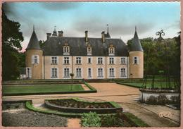 18 / PLOU (Brouillamnon) - Château De CASTELNAU Vu Des Jardins (années 50) - Francia