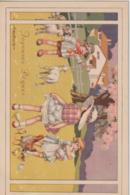 Illustrateur Bertiglia Joyeuses Paques (LOT PAT 90) - Pascua