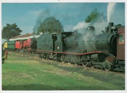 TASMANIA              TRAIN- ZUG- TREIN- TRENI- GARE- BAHNHOF- STATION- STAZIONI   2  SCAN  (NUOVA) - Treni