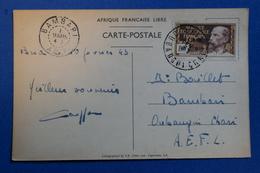 16 FRANCE Afrique Equatoriale Française -CPA 1942 CPA DE OUBANGUI BAMBARI - Brieven En Documenten