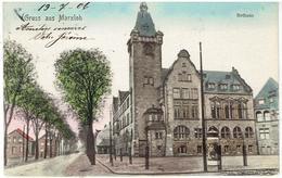 Grüss Aus MARXLOH - Rathaus - Gesendet 1906 - Duisburg