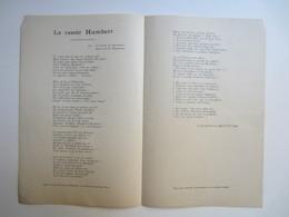 Partition Musicale  Le Rasoir  HUMBERT De D. Bonnaud Et Mevisto Ainé - Partitions Musicales Anciennes