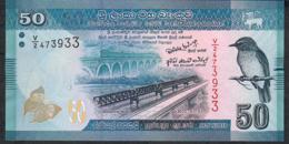 SRI LANKA P124a  50 RUPEES 2010 #V/2       UNC. - Sri Lanka