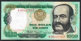 PERU P122 1000 SOLES DE ORO 5.11.1981       UNC. - Perú