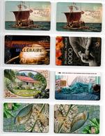 Polynésie Française Lot De Télécartes - Telefonkarten
