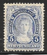 1911 3 Cents Princess Mary, Used - Newfoundland
