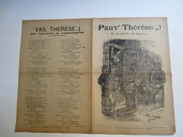 Partition Musicale Affaire HUMBERT - Vas Thérése, Tu Vas Bouffer Des Haricots.. - Partitions Musicales Anciennes