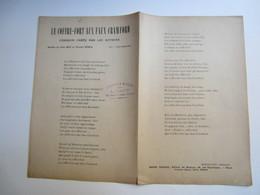 Partition Musicale Affaire HUMBERT - Le Coffre-fort Aux Faux Crawford PAROLES DE Jules MOY Et V. HYSPA - Partitions Musicales Anciennes