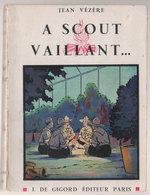 Scoutisme  A Coeur Vaillant  1935 - Scoutisme