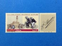 2003 ITALIA FRANCOBOLLO NUOVO STAMP NEW MNH** FRATELLI ALINARI - 6. 1946-.. Repubblica