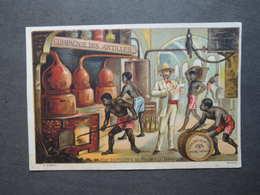CHROMO  APPEL.Compagnie Des ANTILLES. RHUMS. Distillerie De Rhum à La JAMAÏQUE. Tonneaux - Non Classés