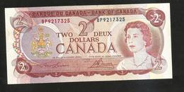 Banque Du CANADA / Bank Of CANADA - 2 DOLLARS (OTTAWA 1974) - Canada