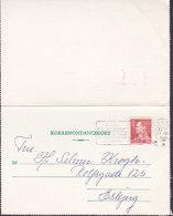 Denmark Korrespondancekort Slogan Flamme 'Himmelbjergbyen' SILKEBORG 1961 Card Karte ESBJERG 30 Øre Fr. IX. Stamp - Danimarca