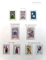 Colección Collection Andorra Francesa 1972 - 1995 MNH - Colecciones (en álbumes)